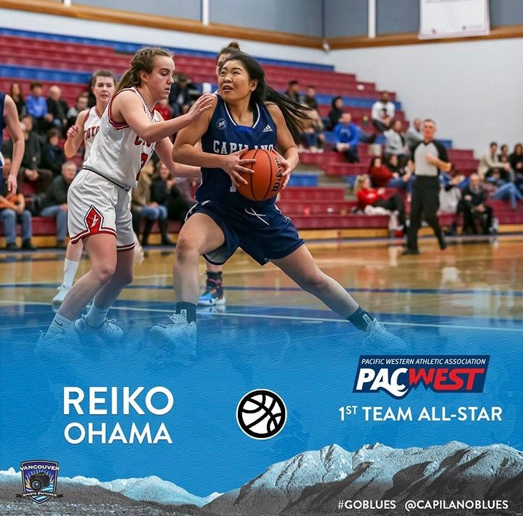 Kamloops' Reiko Ohama in running for CCR Canada CCAA Women's