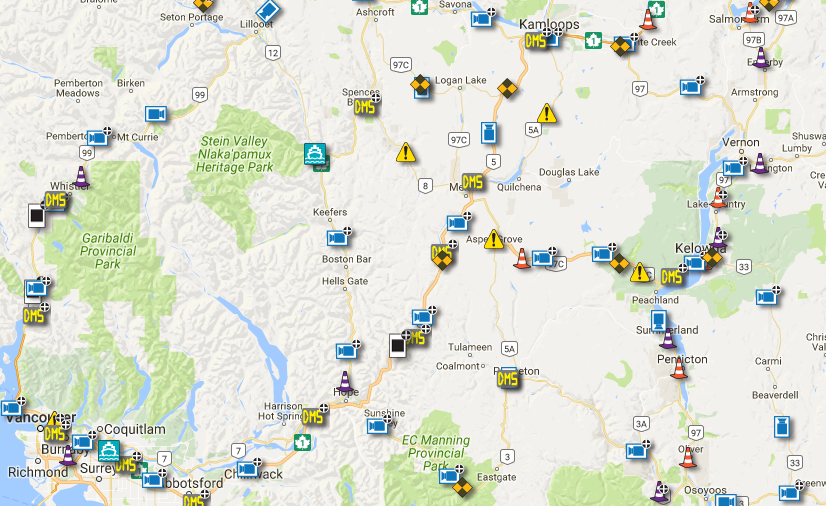 Yet another snowfall warning issued for Coquihalla Highway