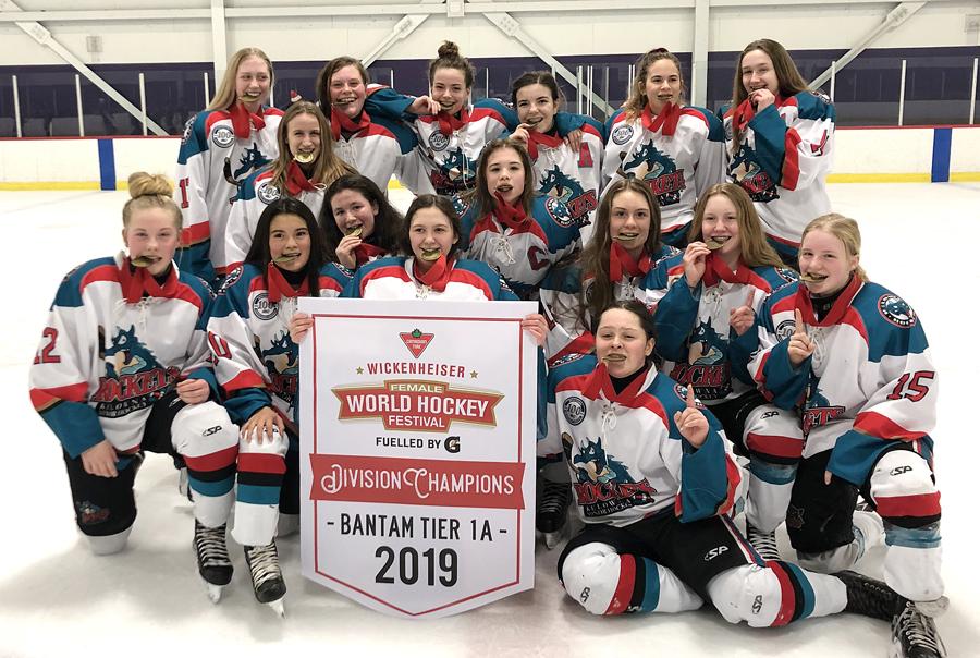 Bantam Girls Bring Home Gold From Wickenheiser Tournament