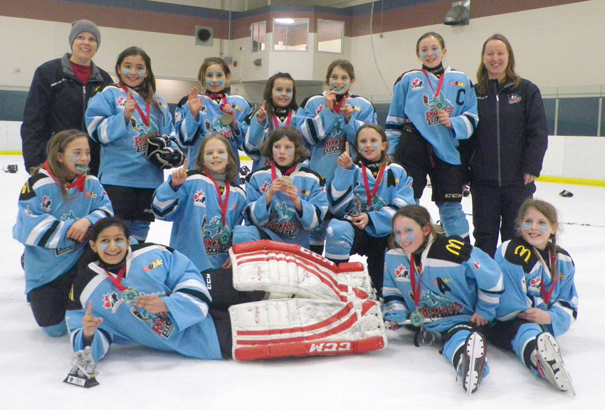 Gold Silver For Kelowna Teams At Alley S Angels Hockey Tournament