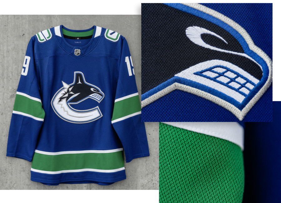 huge selection of 86f80 e0d3a Canucks officially unveil new jerseys
