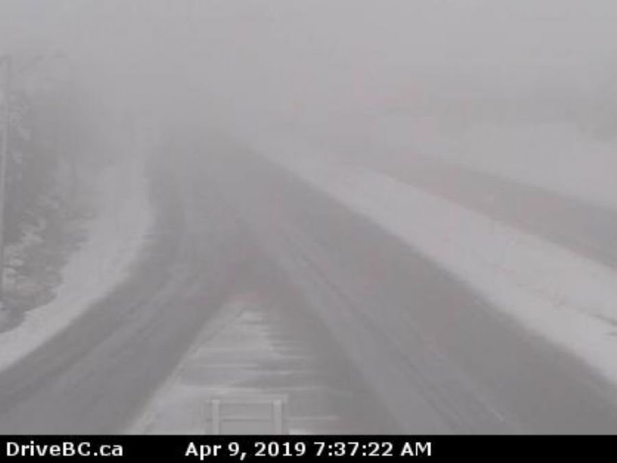 Tough driving conditions, multiple accidents on BC Interior highways