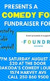 Doak Shirreff Lawyers present Comedy for a Cause for Foundry