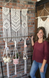 Macrame & Wine with The Makery