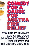 Real Deal Australian Meat Pies presents Comedy for a Cause for Australian Fire Relief