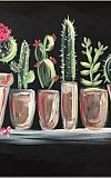 JoeAnna's House Paint Nite Fundraiser - Cactus Collection II