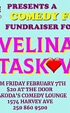 Lakeshore Animal Clinic's Comedy for a Cause for Velina Taskov