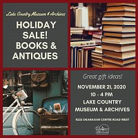 Holiday Book & Antique Sale