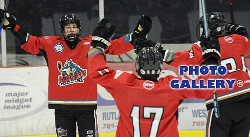 Young OK Rockets take aim at major midget hockey title