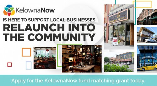 KelownaNow announces restart fund matching grant for local businesses