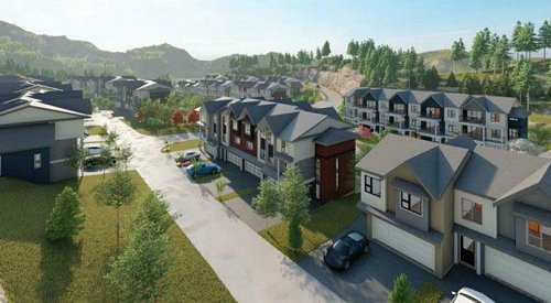 Large townhouse development on Kirschner Mountain slated for public hearing