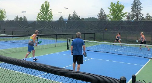 More beach volleyball and pickleball courts officially open in West Kelowna