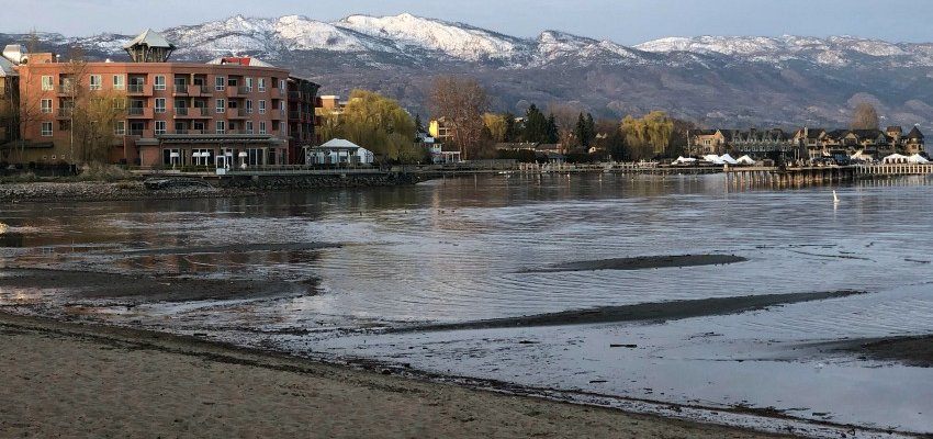 Kelowna is in for the warmest days of the year so far this week